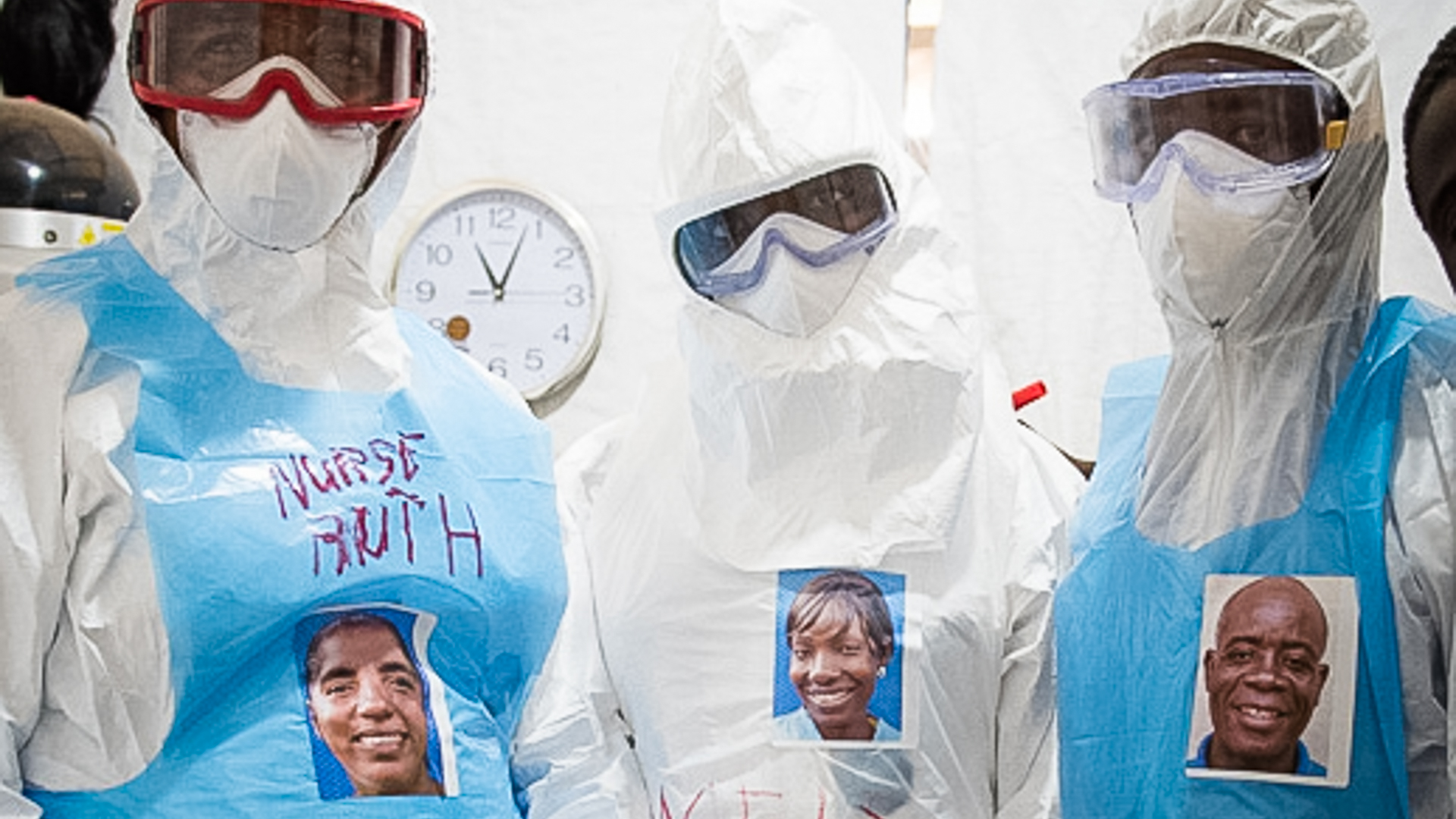 Ebola healthcare workers in the ELWA II ETU